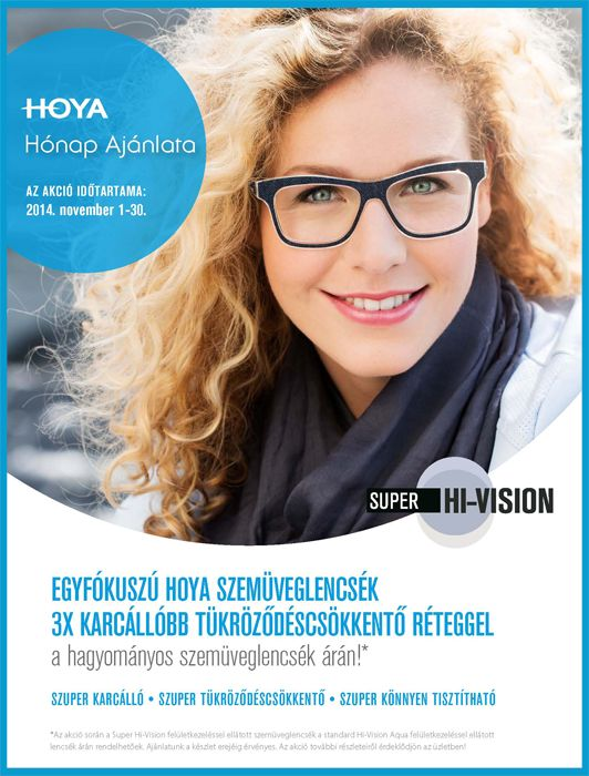 Hoya Super Hi-Vision akció