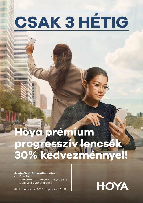 Hoyalux iD prémium progresszív lencsék 30% kedvezménnyel!