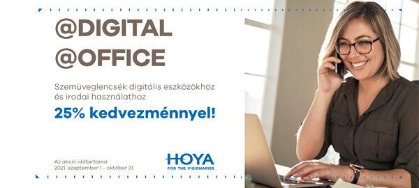 Szemüveglencsék digitális eszközökhöz és irodai használathoz 25% kedvezménnyel